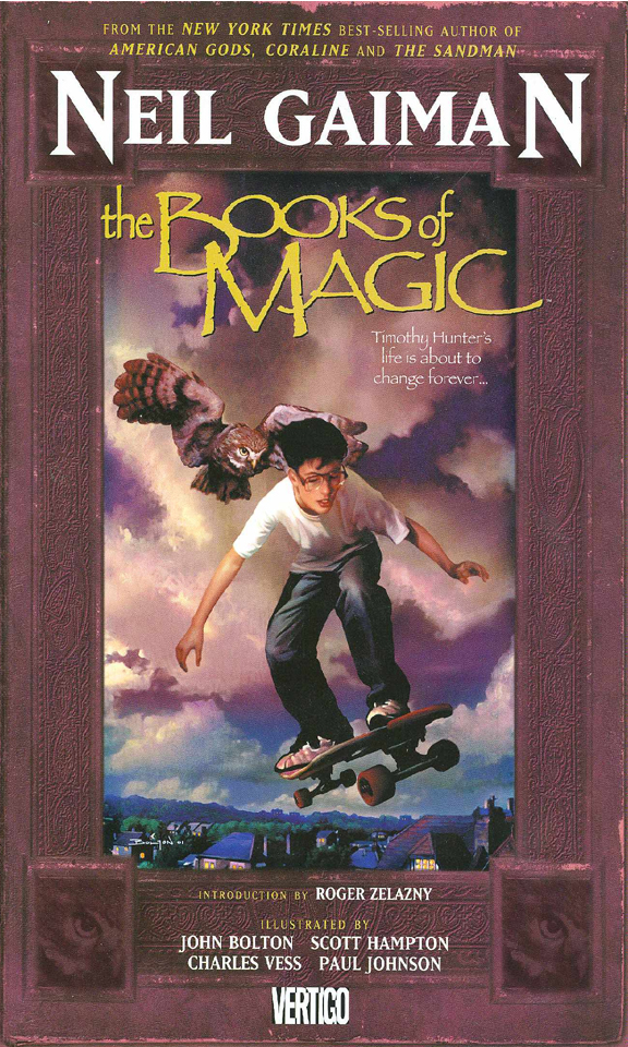BOOKS OF MAGIC TP