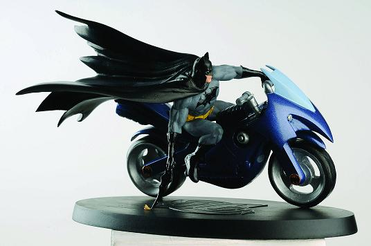 DC SUPERHERO FIGURINE COLL MAG SPECIAL BATCYCLE