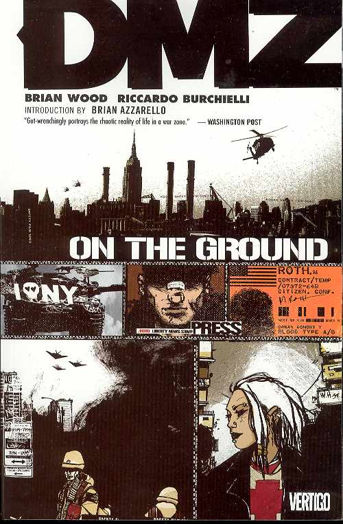 DMZ TP VOL 1 ON THE GROUND