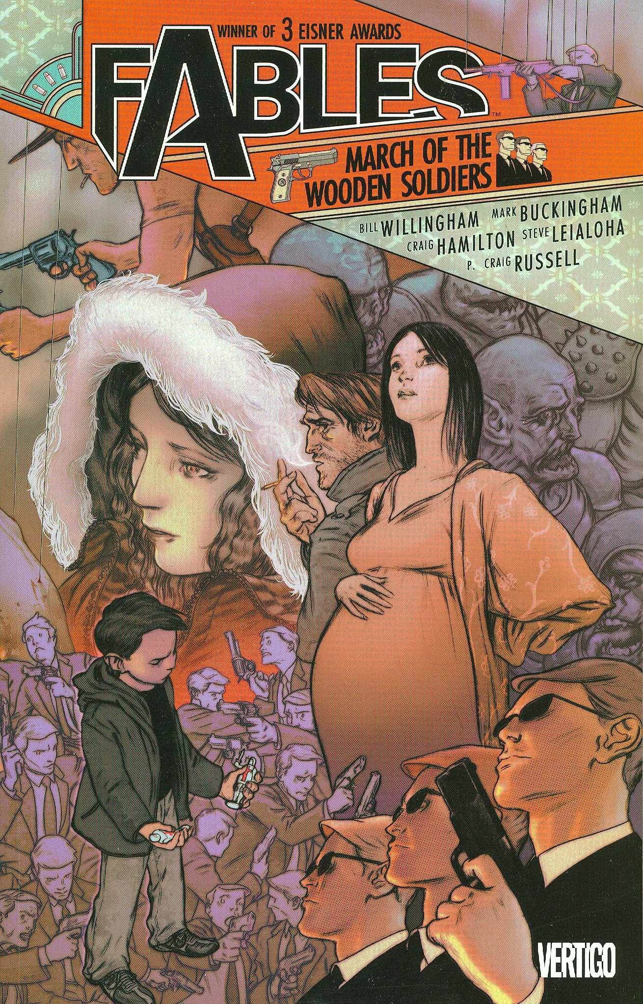 FABLES TP VOL 4 MARCH OF THE WOODEN SOLDIERS