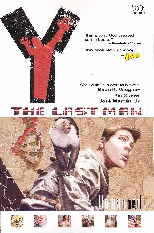 Y THE LAST MAN TP VOL 1 UNMANNED